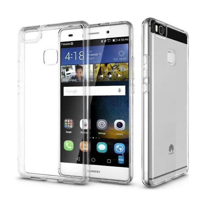 Stuff Certified® 3-Pack Transparent Clear Silicone Case Cover TPU Case Huawei P9 Lite