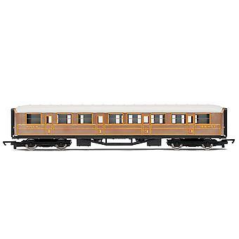 Hornby RailRoad LNER Teak Composite Coach