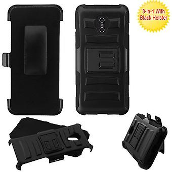 ASMYNA Advanced Armor Stand Case con fondina per 5059R/1X Evolve/Avalon V - Nero