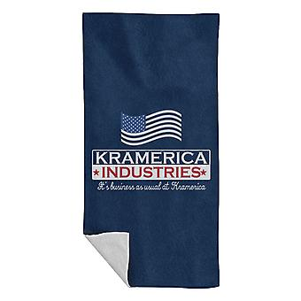 Seinfeld Kramerica Industries Beach Towel