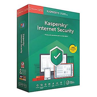 Kotiin anti virus Kaspersky Internet Security MD 2020 (3 laitteet)