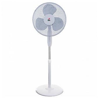 Freestanding Fan Grupo FM VP-40 Blanc