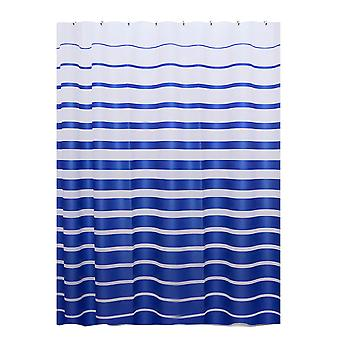 Thickened shower curtain stripe waterproof thickening