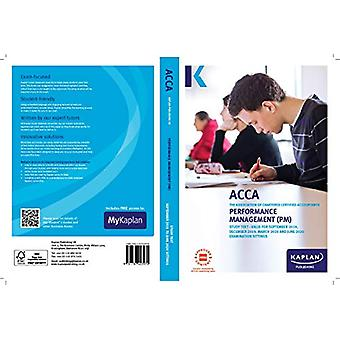 PERFORMANCE MANAGEMENT - STUDY TEXT by KAPLAN PUBLISHING - 9781787403