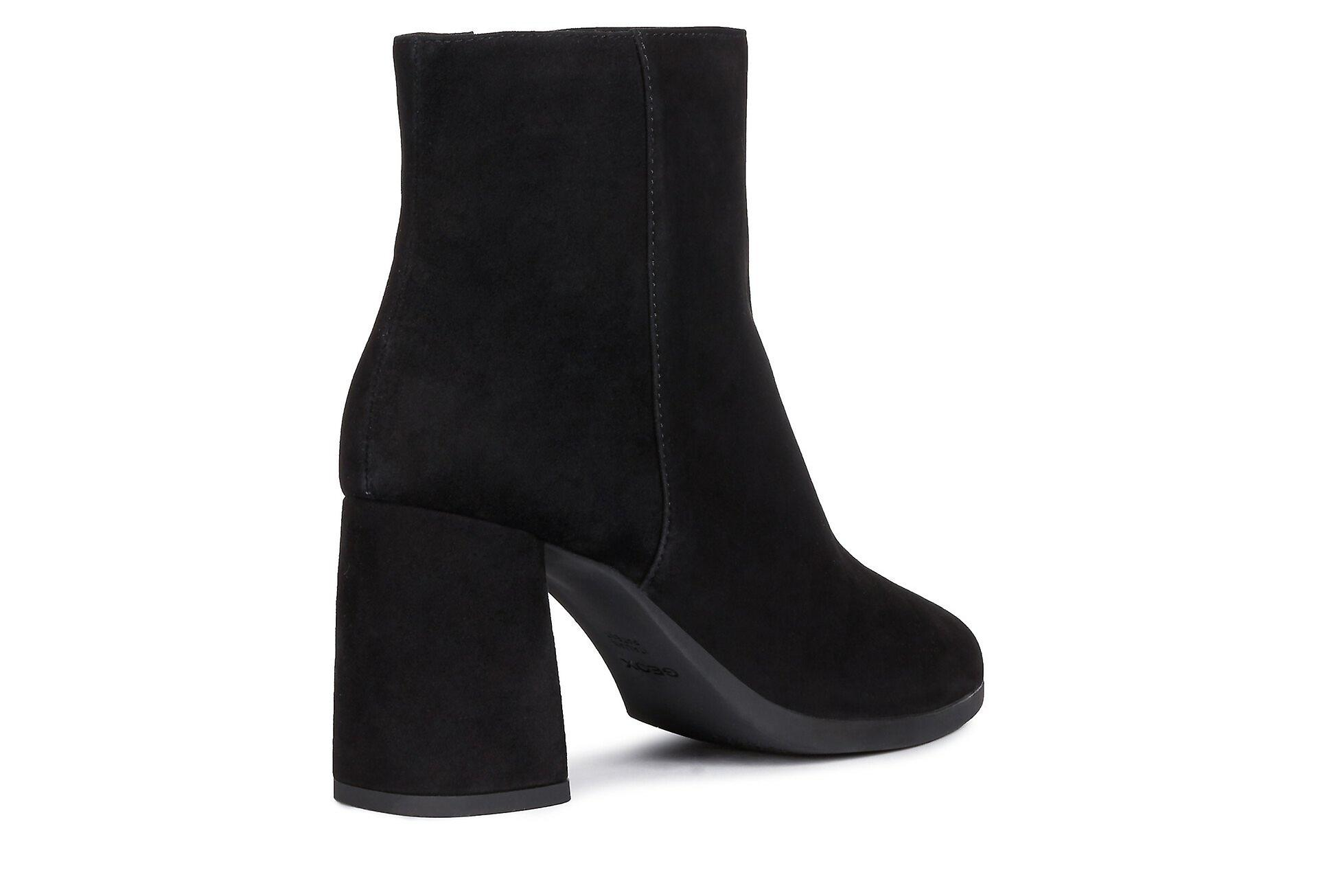Geox d calinda h a ankle boots womens black