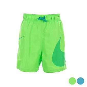 Child's Bathing Costume Nike 4 Volley Short/Grey