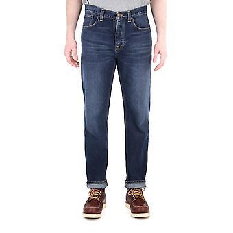 Nudie Jeans Sleepy Sixten Dark Stone Relaxed Fit Jeans