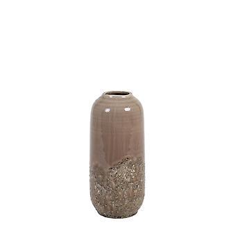 Light & Living Vase Deco 13.5x30cm Dulci Ceramics Old Pink