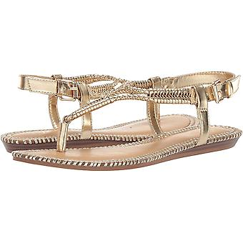 Fergie Women's Shoes G3213S1 Leather Open Toe Casual Slide Sandals