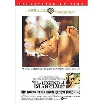 Legenden om Lylah Clare (Remastered) [DVD] USA importerer