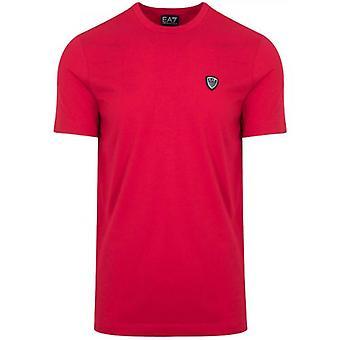 EA7 Tango Red Shield Logo T-Shirt