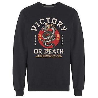 Victory Or Death Dragon Sweatshirt Men's -Bild av Shutterstock