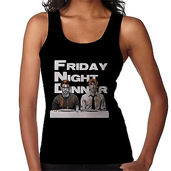 Friday Night Dinner Adam And Jonny Women's Vest