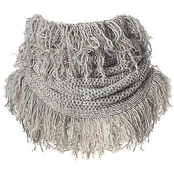 Barts fawn collar - ladies scarf - heather grey