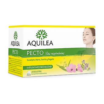 Aquilea Pecto Infusions 20 packets
