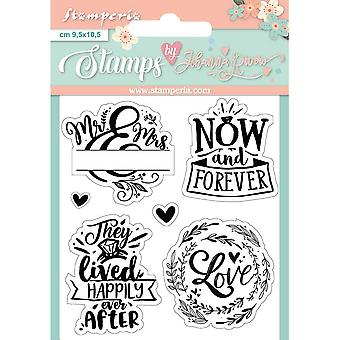 Stamperia Now and Forever Clear Timbres