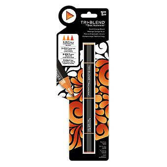 Spectrum Noir TriBlend Marker Burnt Orange Blend
