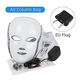 Electric Led Facial Mask with Neck Machine- Beauty Photon Therapy Anti Acne