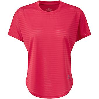 Ron Hill Womens Momentum Flow Breathable Relaxed Fit T Shirt