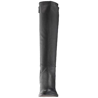 Kenneth Cole Nueva York mujeres Levon bota de cuero redondo delación rodilla alta...