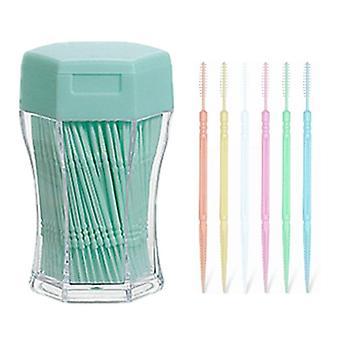 Zubná niť zubná kefka - Cleaner Stick Pick