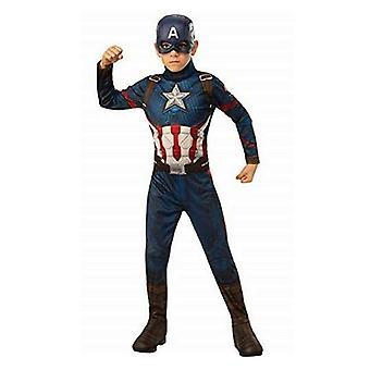 Kostume til børn Captain America Avengers Rubiner (8-10 år)