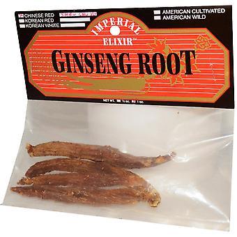 Imperial Elixir, Ginseng Root, Chinese Red Shiu Chu Xu, 1 oz