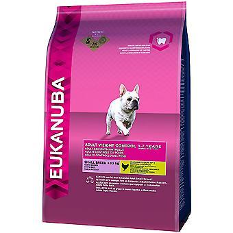 Eukanuba Volwassen Gewichtscontrole Klein Ras - 3kg