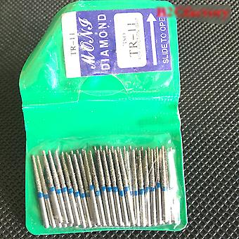 Dental Diamond Burs For Polishing Smoothing Teeth Polishers