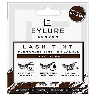 Eylure Pro-Lash Dylash Permanent Tint for Lashes - Dark Brown - 8 Applications