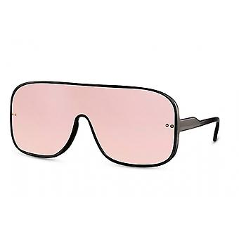 Sunglasses unisex nschild fully bordered Cat. 3 black/pink