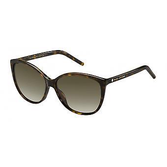 Sunglasses Women's Cat's Eye Havana/Brown Gradient