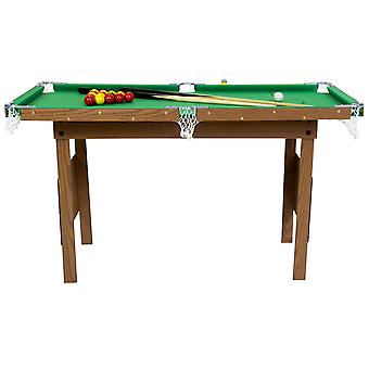 Charles Bentley Junior 4ft American Pool Tisch mit Pool Bälle und 2 Cues