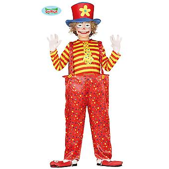 Clownkostüm giant byxor Childs kostym clown komedi kostym barn