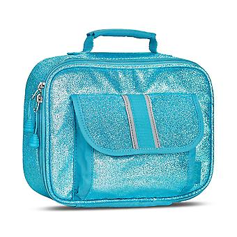 Sparkalicious Turquoise Lunchbox