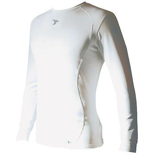 Kids Baselayer L/S - White