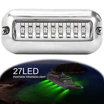 3.5inch/12v Dc/27 Led Marine Stainless Steel For Waterproof Boat Transom Light Ip68