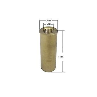 4pieces/lot M10 Female Thread Hollow Tube Brass Cylinder Threaded Coupler 4pieces/lot M10 Female Thread Hollow Tube Brass Cylinder Threaded Coupler 4pieces/lot M10 Female Thread Hollow Tube Brass Cylinder Threaded Coupler 4