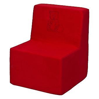 Kinderstoel schuim rood