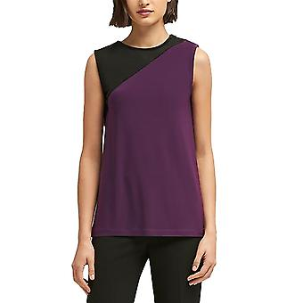 DKNY | Colorblocked Zipper-Trim Shell