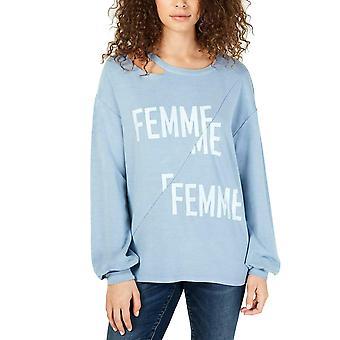 INC | Femme Graphic Distressed Sweatshirt