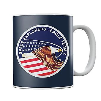 NASA STS 51I Space Shuttle Discovery Mission Patch Mug