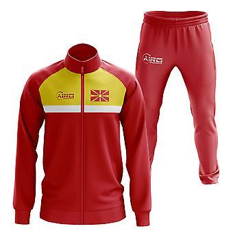 Makedonia Concept Jalkapallo Verryttelypuku (punainen)