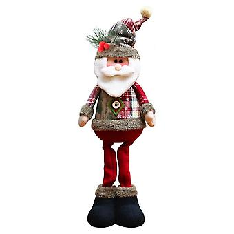 Snowman/elk/ Santa Claus Plush Dolls For Home Decorations, Christmas Tree