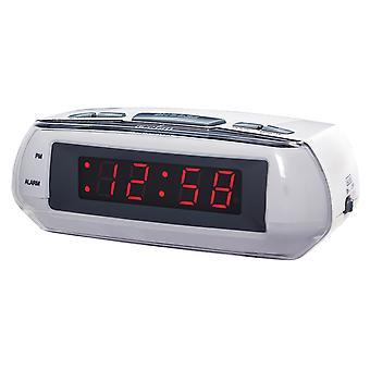 Acctim Metizo Alarm Clock LED Red 14017