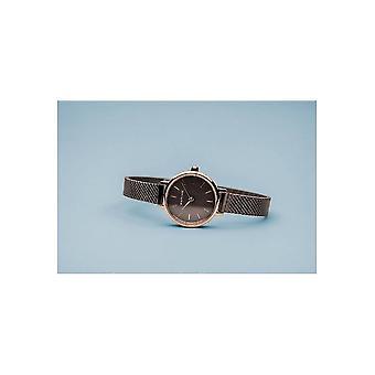 Bering kvinnors klocka Classic steg guld glansig 11022-265