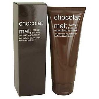 Chocolat Mat By Masaki Matsushima Body Lotion 6.65 Oz (women) V728-535130