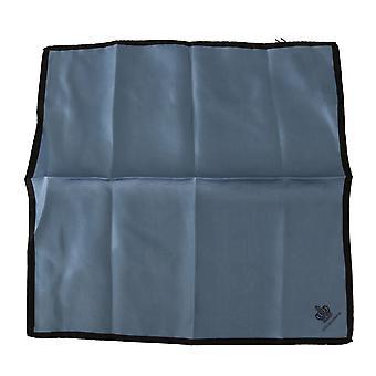 Dolce & Gabbana Blue Crown DG Logo Nenäliina 32cm x 32cm Silkki huivi
