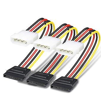 Benfei 4 pin molex to sata power cable (sata to molex) - 25cm
