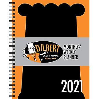 Calendario de Planificador Mensual/Semanal Dilbert 2021